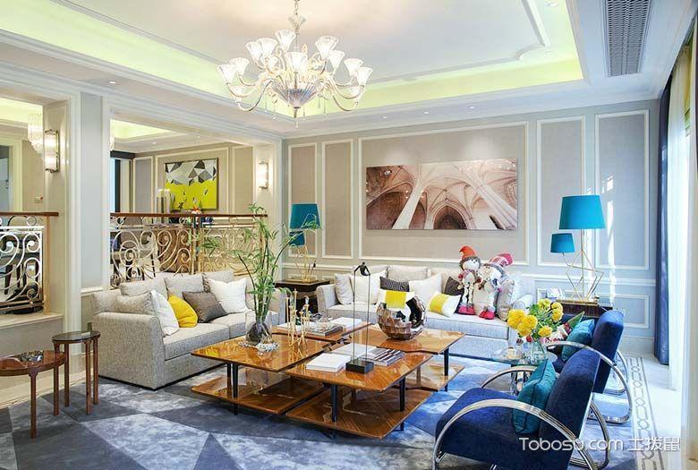 2019法式240平米装修图片 2019法式二居室装修设计
