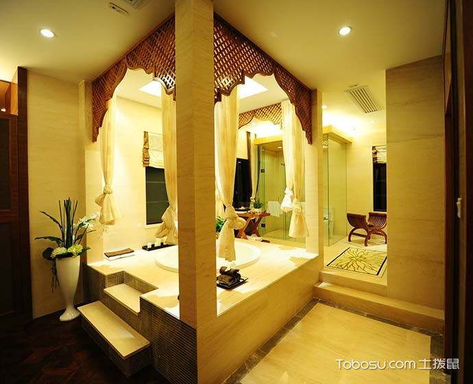 2018东南亚浴室设计图片 2018东南亚地砖设计图片