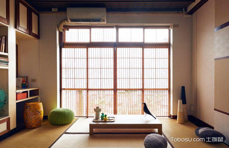 174平米楼房日式风格室内装修图片