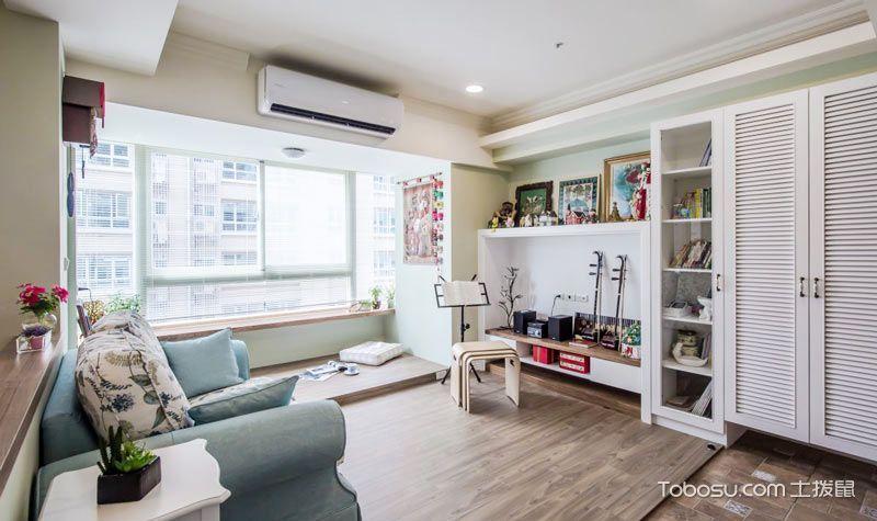 2020宜家70平米设计图片 2020宜家二居室装修设计
