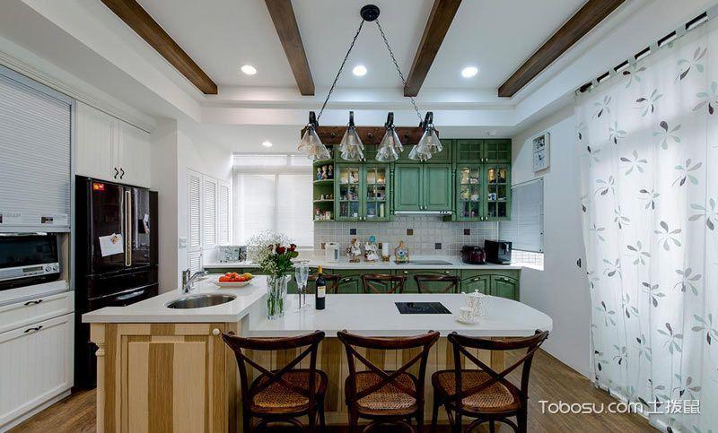 2020混搭厨房装修图 2020混搭吊顶装饰设计