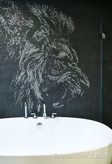 2018简约浴室设计图片 2018简约背景墙装修图片