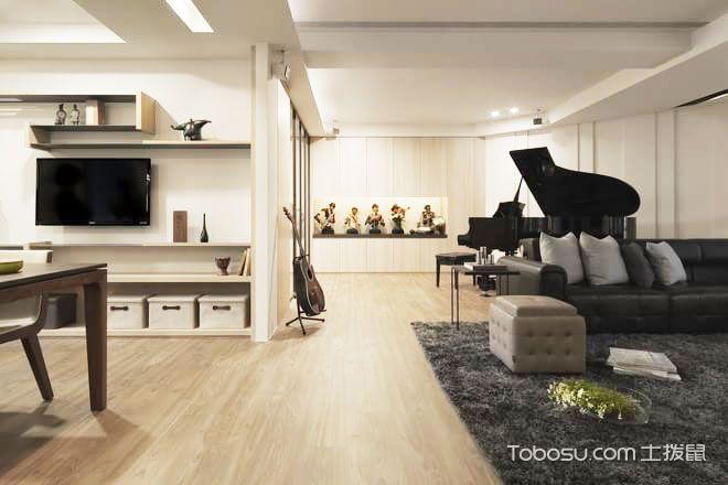 190平米北欧舒适家 米色温馨设计