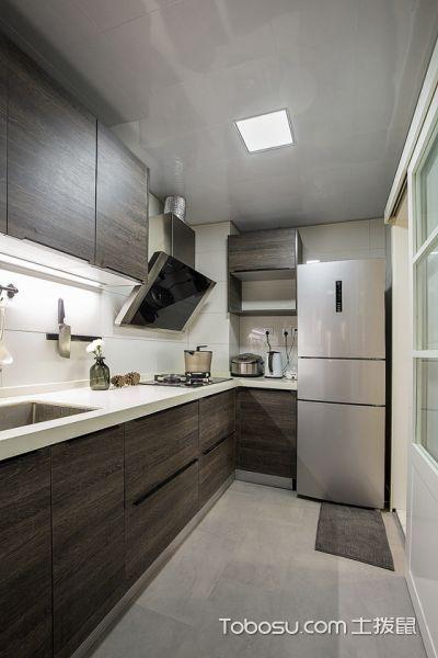 2019现代简约厨房装修图 2019现代简约吊顶装饰设计