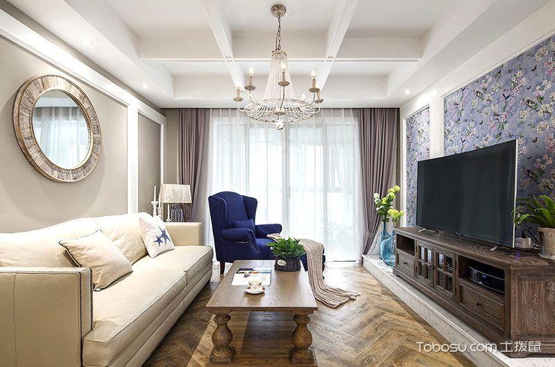 2019法式150平米效果图 2019法式二居室装修设计