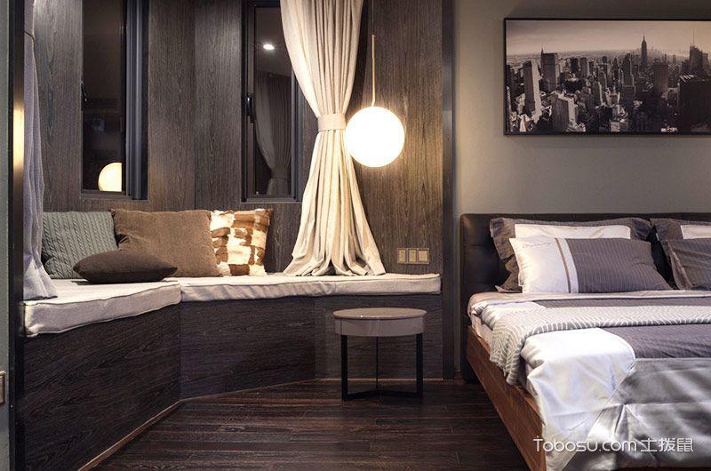 180平米现代风格样板间效果图 时尚摩登感