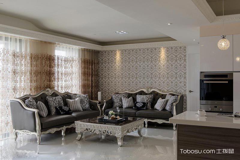 2021新古典90平米装饰设计 2021新古典一居室装饰设计