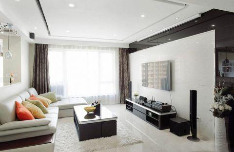 套房90平米现代简约风格效果图
