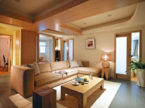 2018现代110平米装修设计 2018现代二居室装修设计