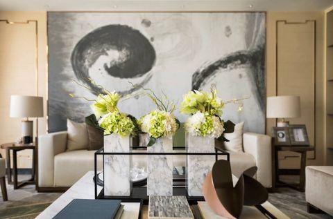 2020现代中式110平米装修设计 2020现代中式二居室装修设计