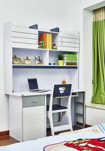 高贵风雅卧室办公桌装修方案