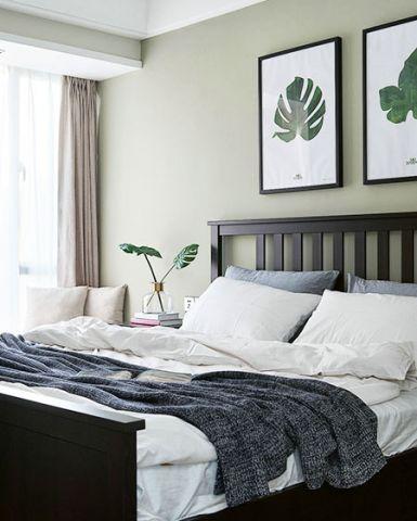 淡雅灰色卧室家装设计