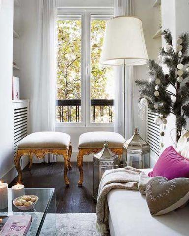 客厅窗帘简约设计图