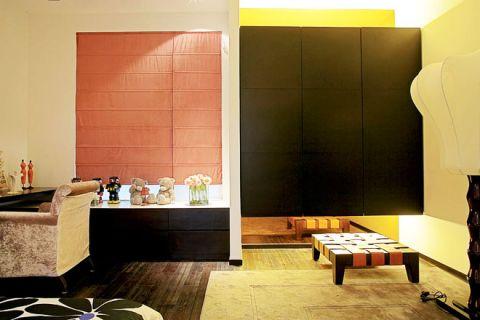 卧室地砖新中式装修