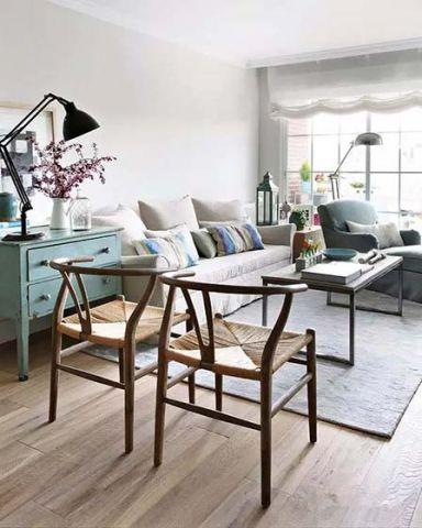 客厅沙发混搭家装设计图