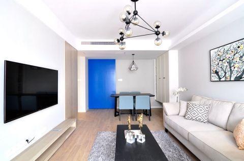 客厅米色沙发装修方案