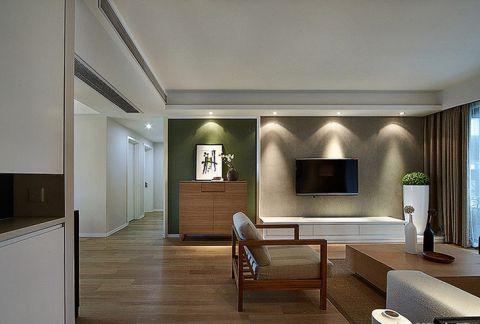 简约客厅地板装修效果图欣赏