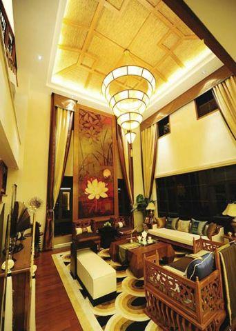 2018东南亚150平米效果图 2018东南亚二居室装修设计