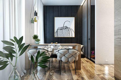 现代简约风格公寓60平米家装设计