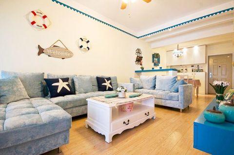 2020地中海90平米装饰设计 2020地中海公寓装修设计