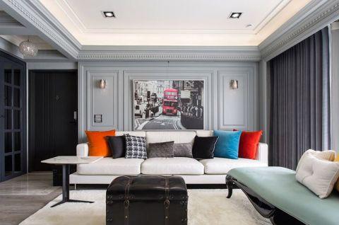 现代客厅沙发效果图