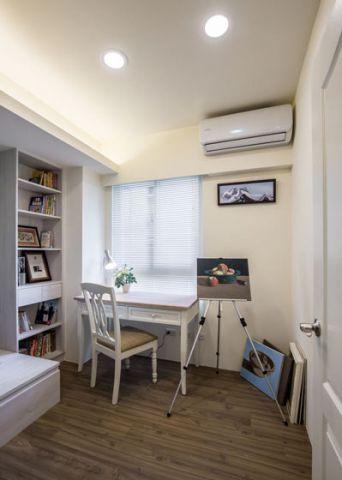 迷人白色书桌装修设计图片