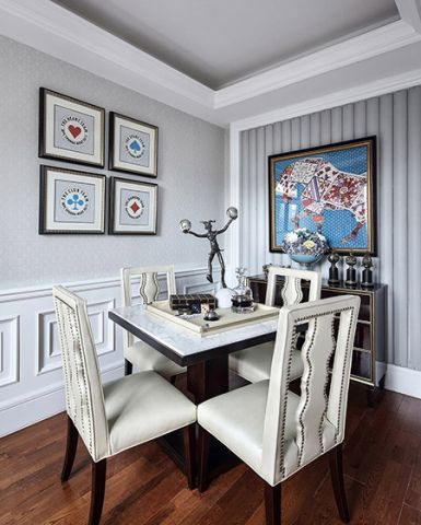 2019法式起居室装修设计 2019法式细节装修效果图大全