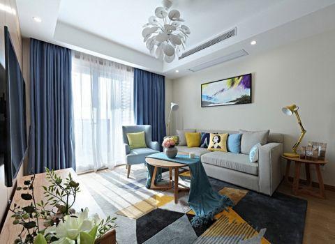 2018简约90平米装饰设计 2018简约二居室装修设计