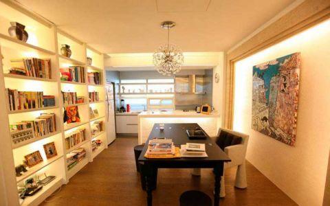 现代厨房橱柜装饰设计图片