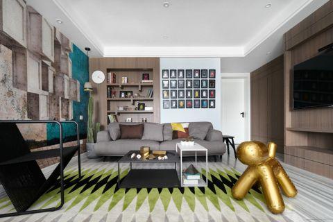 2018简约150平米效果图 2018简约套房设计图片
