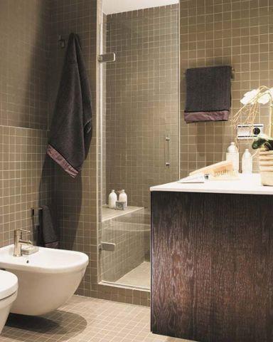 2018现代卫生间装修图片 2018现代浴室柜装修图片