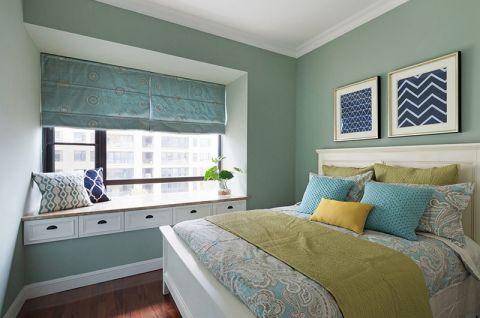 2018美式卧室装修设计图片 2018美式床图片