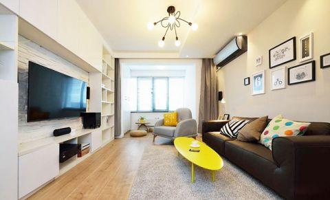 现代风格小户型85平米室内装饰