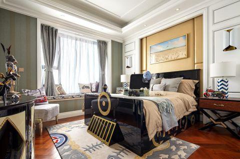 2018现代欧式卧室装修设计图片 2018现代欧式床图片