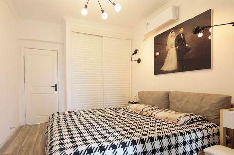 北欧卧室衣柜装饰实景图片
