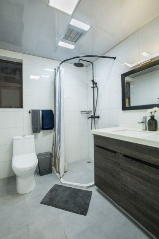 卫生间吊顶现代简约设计效果图