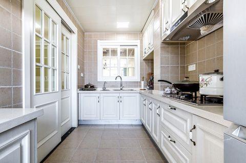 2019美式厨房装修图 2019美式橱柜装修效果图片