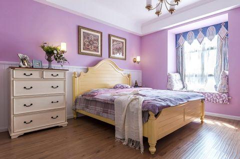 卧室储物柜床美式案例图片