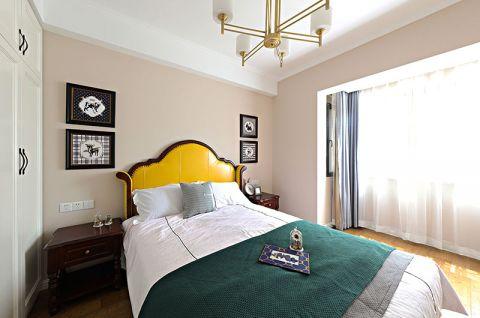 眩亮黄色床平面图