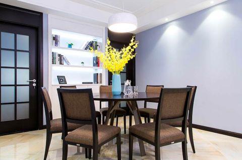 餐厅餐桌简约装修设计