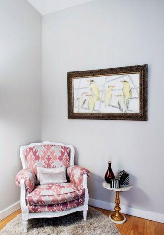 古朴卧室装潢实景图