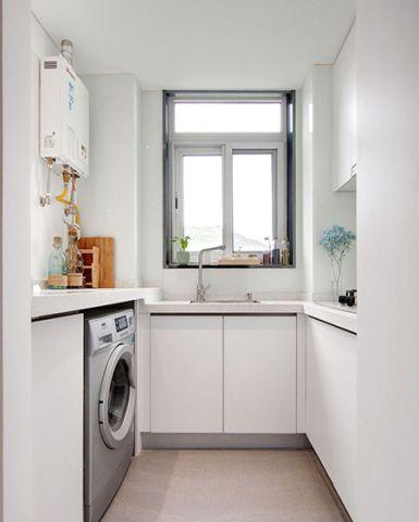 精雕细刻白色厨房装饰设计图片