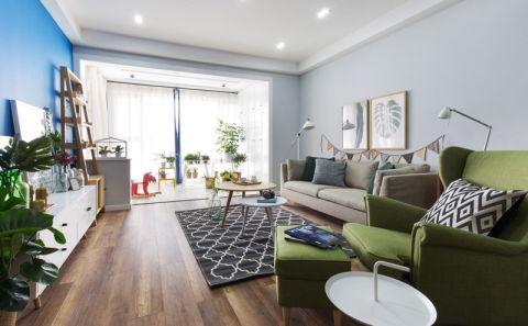 2018北欧110平米装修设计 2018北欧套房设计图片