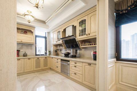 2018欧式厨房装修图 2018欧式橱柜装修效果图片
