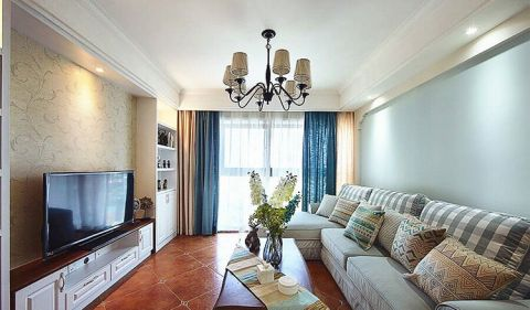 2018美式90平米装饰设计 2018美式公寓装修设计