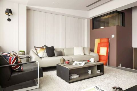 2019简约90平米装饰设计 2019简约公寓u乐娱乐平台设计