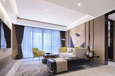 2018现代简约150平米效果图 2018现代简约二居室装修设计