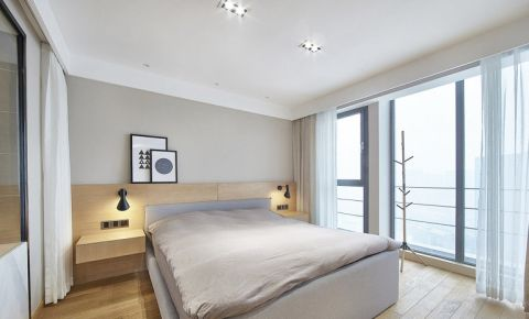 朴素温馨卧室日式平面图