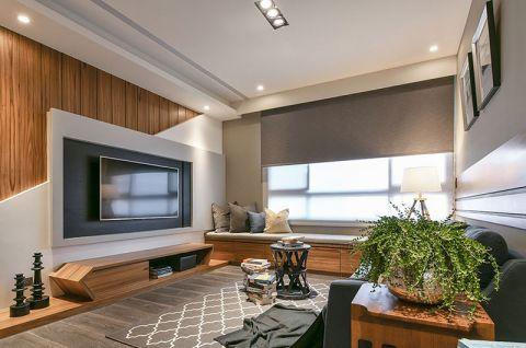 简约风格二居室131平米装修