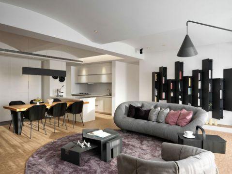 客厅吊顶现代简约装修美图